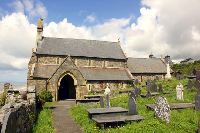 St Mary and St Bodfan Church, Llanaber