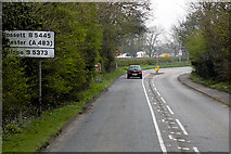 SJ3454 : Chester Road, Gresford by David Dixon