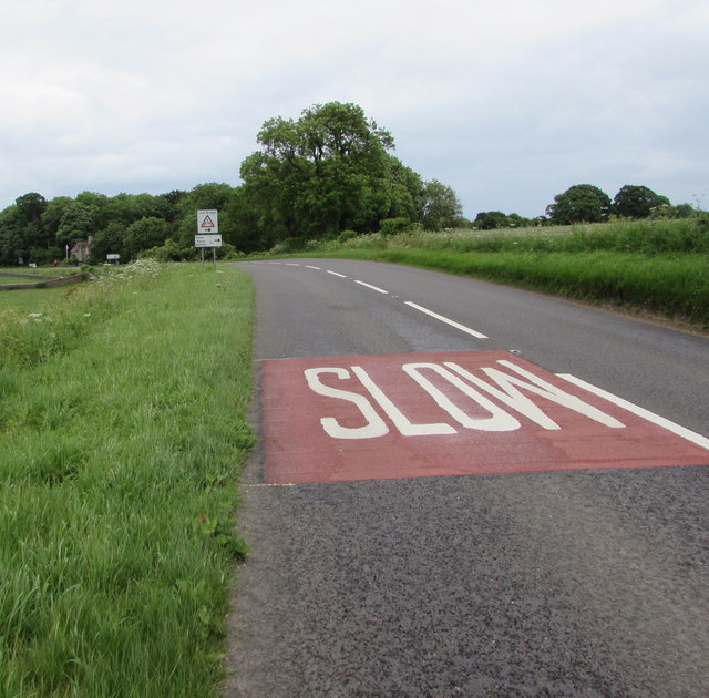 SLOW on the A429 northeast of Kemble