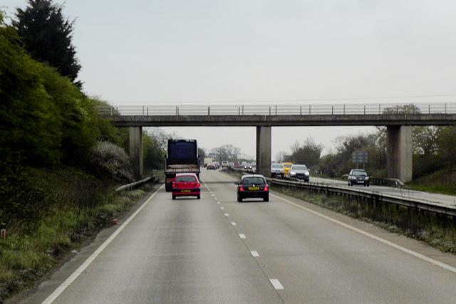 A483, Dodleston Lane Overbridge
