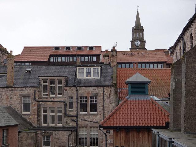 Berwick rooftops
