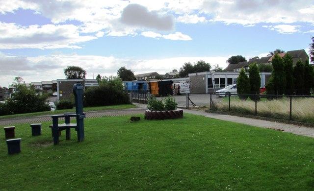 Fire damage to Torbain school, Kirkcaldy