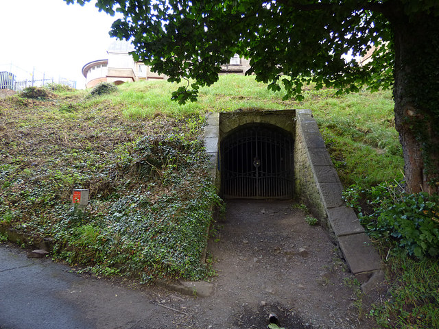 Ice house on Bank Hill, Berwick
