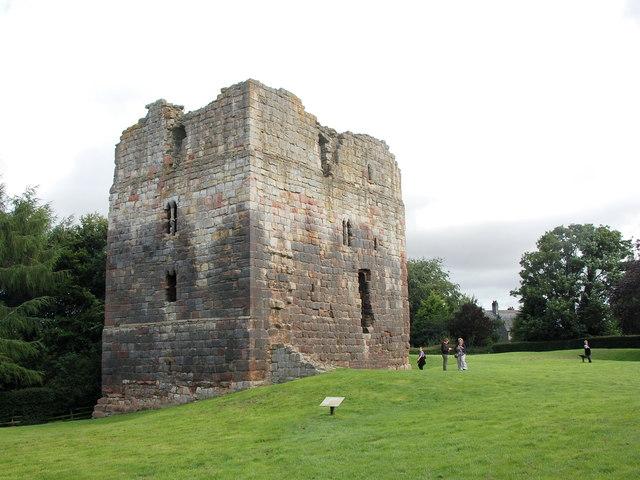 Etal castle: the great tower