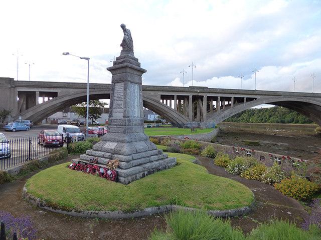 War memorial, Main Street, Tweedmouth (1)