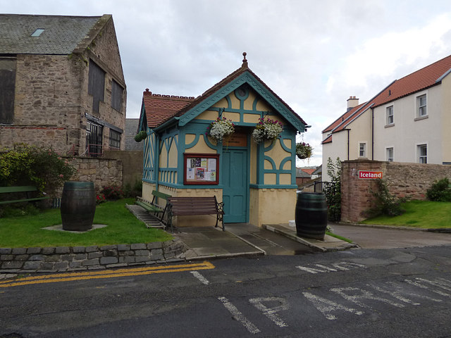 Ice cream hut, Bank Hill, Berwick-upon-Tweed