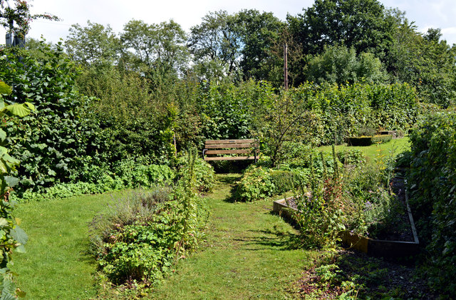Broome's Garden, Longtown Castle