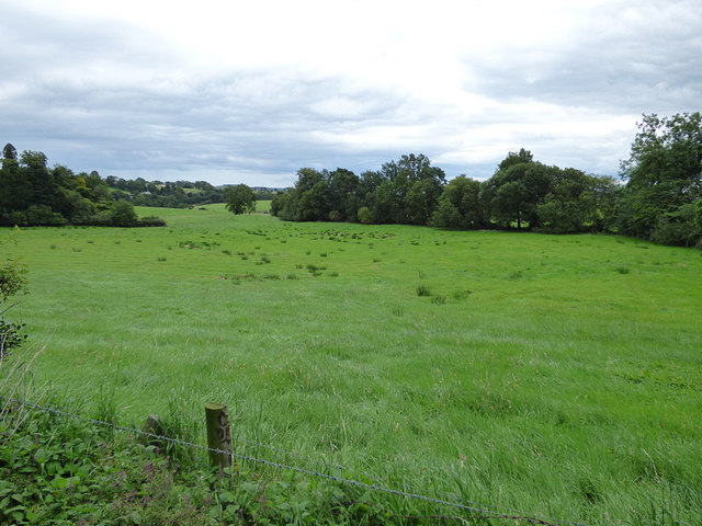 Field behind Eglingham vicarage