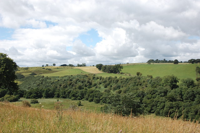 View of the valley of Tyne Water