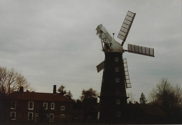 Alford windmill, 1984