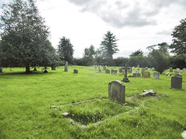 Hinton St Mary, churchyard