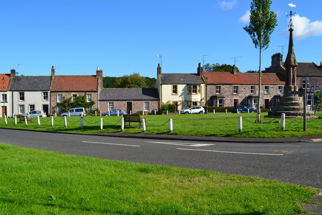 Village green at Norham