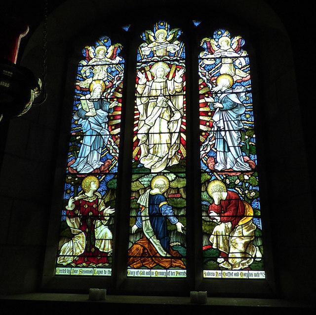 St Maurice, Eglingham - east window