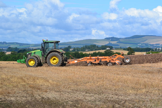 Ploughing near Whitsomehill