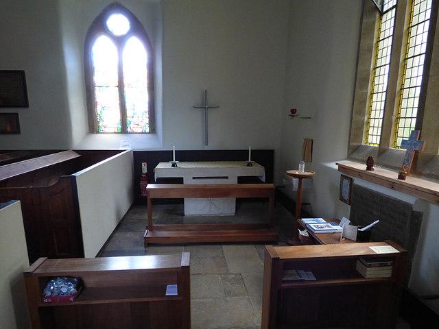 St Maurice, Eglingham - side chapel