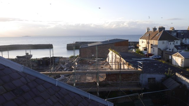 Boat shed demolition