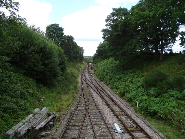 Railway at Groombridge