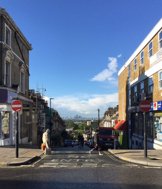 Top of Woodland Road, Crystal Palace, south London