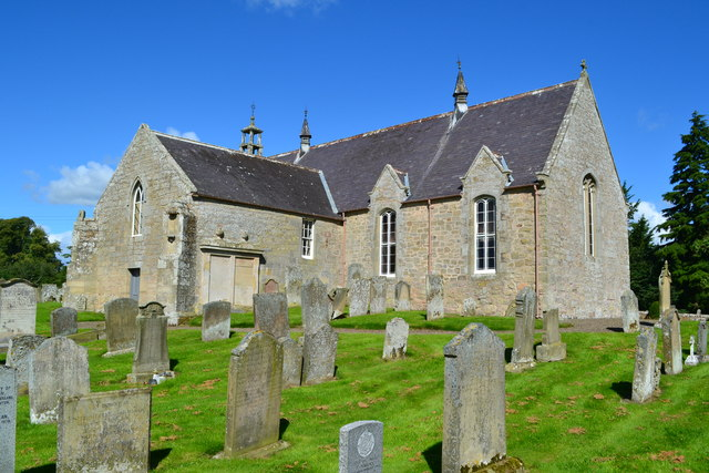 Edrom Church and churchyard