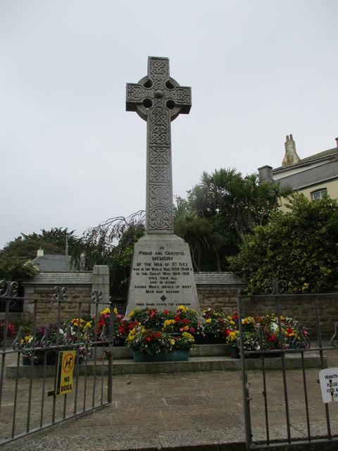 St  Ives  War  Memorial