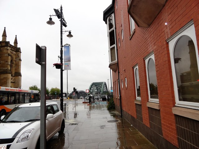 View down Bridge Street, Sunderland