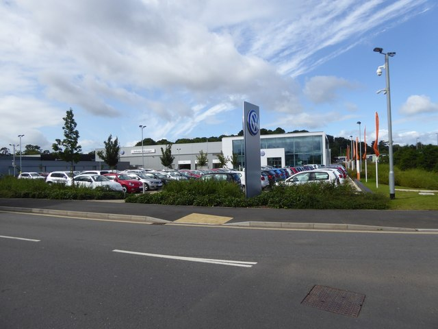 Volkswagen showroom, Matford Business estate