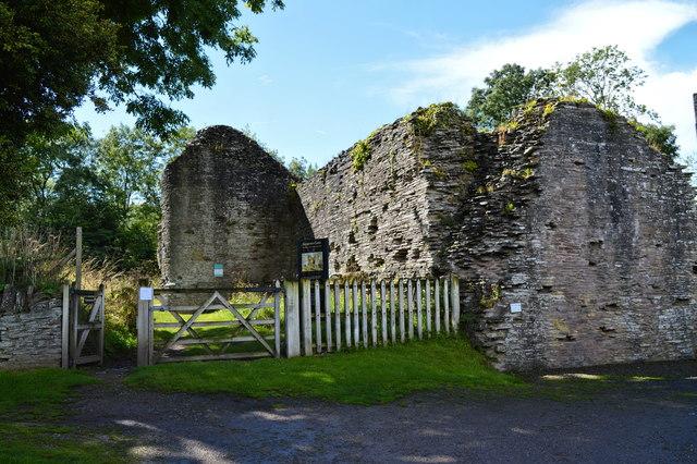 Entrance to Longtown Castle