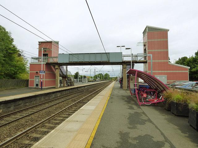 Alnmouth station footbridge