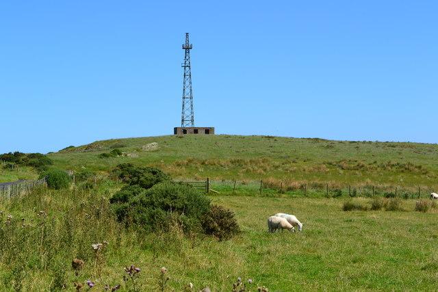 Radio mast at Harly Darlies