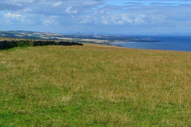 Clifftop field beside the A1107