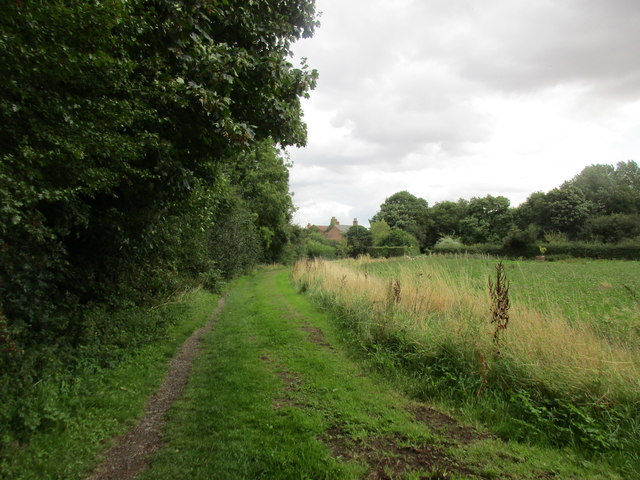 Footpath to Boggle Lane, Sproatley