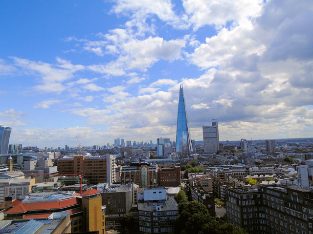 View towards the Shard