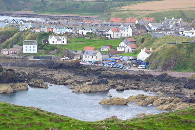St Abbs, from the path to St Abb's Head