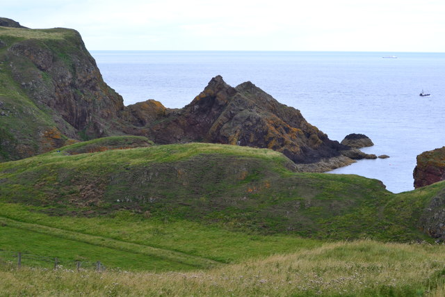 The path to St Abb's Head, above Horsecastle Bay