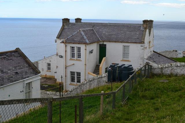 Lighthouse keeper's house, St Abb's Head