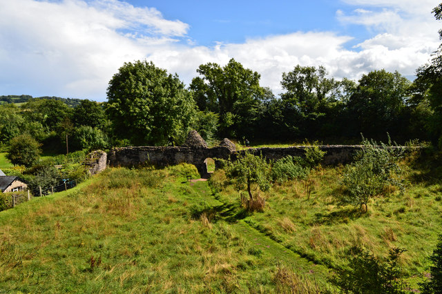 Nature is in charge - Longtown Castle