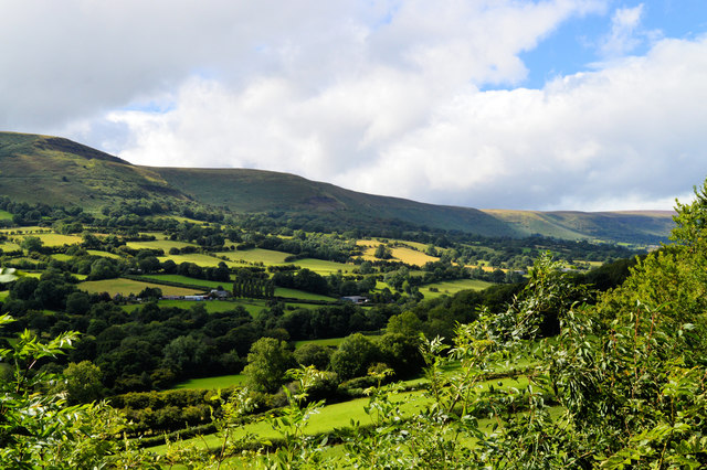 The Olchon valley and the Black Mountains