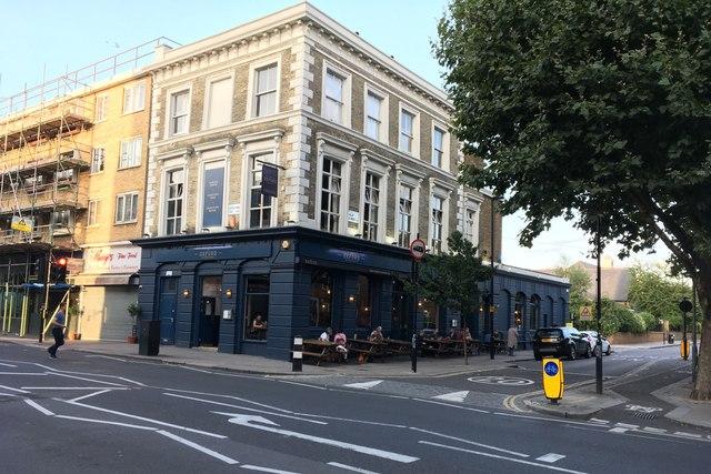 The Oxford pub on Islip Street