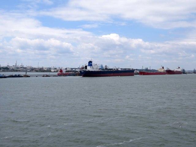 The Marine Terminal at Fawley