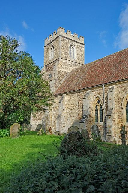 Church of St Botoloph, Graveley
