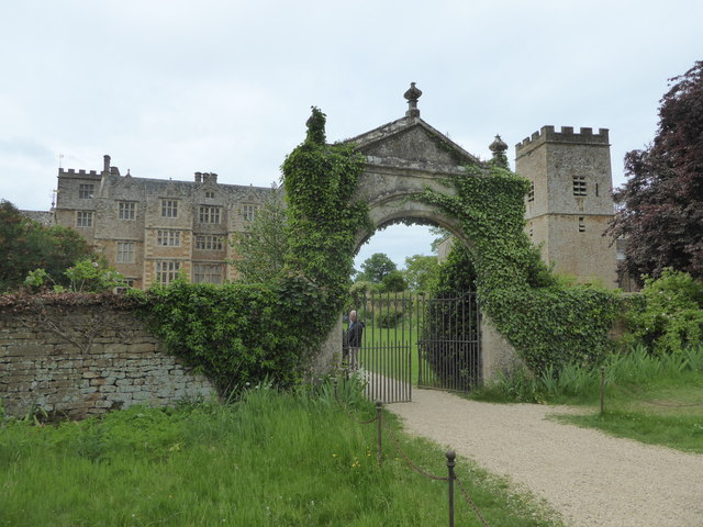 Chastleton House, church and gateway