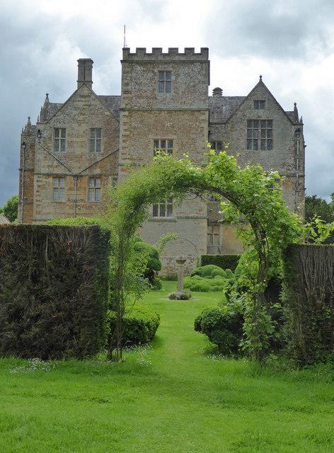 Chastleton House from the garden