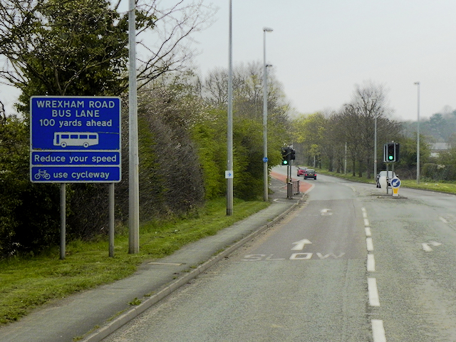 Wrexham Road (A483), Chester