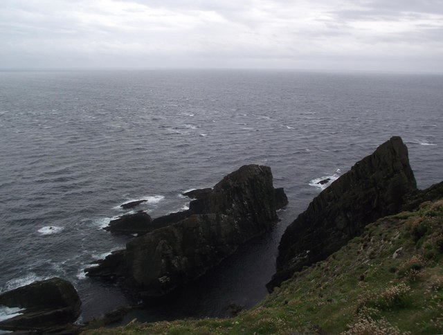 Rocks at the tip of Sumburgh Head
