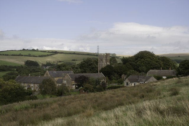 Askerswell village from the south