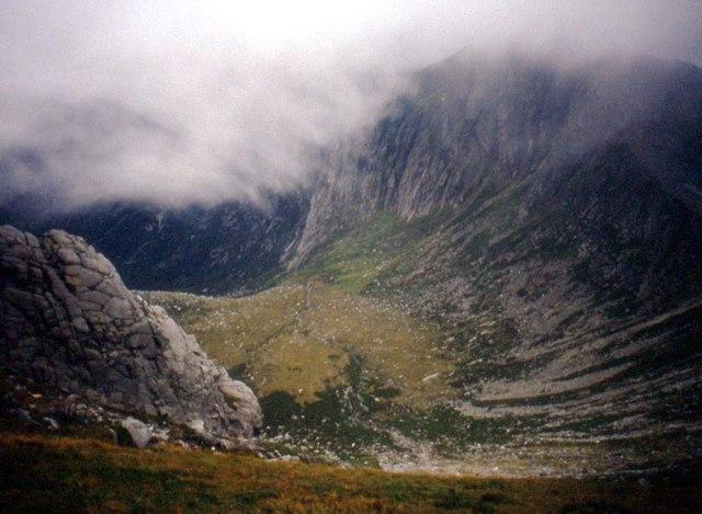 Mist over Coire na h-Uaimh