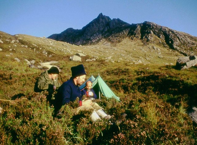 Breakfast in Coire Buidhe