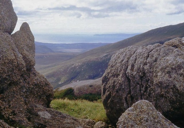 The rounded granite of Arran