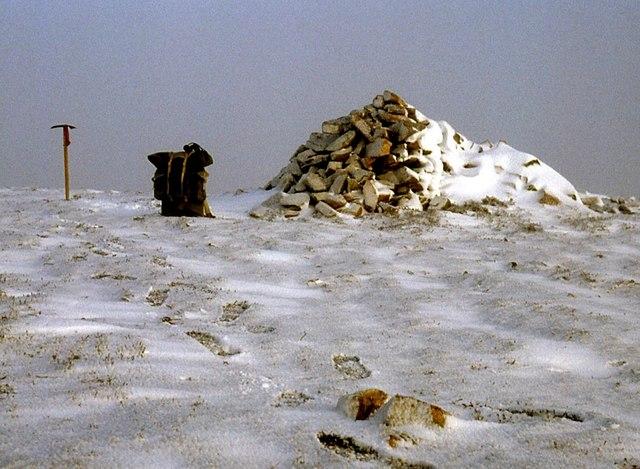 Carn Liath's summit cairn
