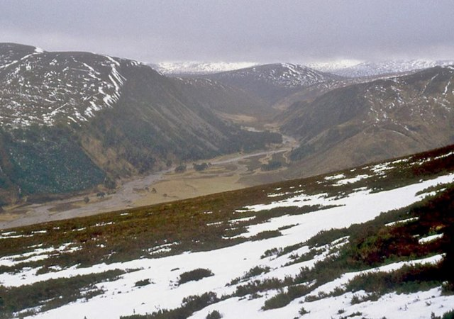 The west flank of Glen Feshie